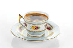 Traditional porcelain set of coffee Royalty Free Stock Photography