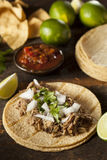 Traditional Pork Tacos Stock Images