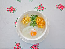 Traditional porridge rice congee Stock Photo
