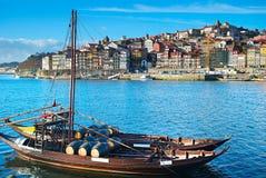 Traditional Porto scene. Portugal Stock Photo