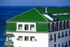 Traditional portugal vacation houses Stock Photos