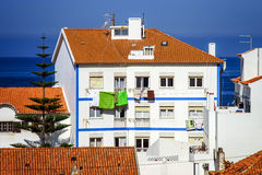Traditional portugal vacation houses Stock Images