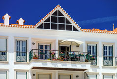 Traditional portugal vacation houses Royalty Free Stock Images