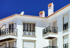 Traditional portugal vacation houses Stock Image