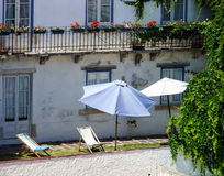 Traditional portugal vacation houses Royalty Free Stock Photo