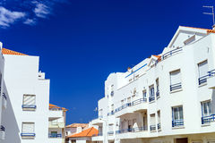 Traditional portugal vacation houses Royalty Free Stock Image
