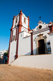 Traditional portugese church Stock Photo