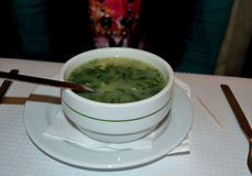 Traditional Portugese Soup Royalty Free Stock Photo