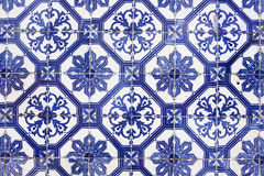 Traditional Portugese Tile (azulejos), Lisbon, Europe Stock Image