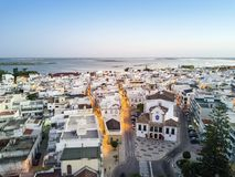 Traditional portuguese village of Olhao, Algarve, Portugal Royalty Free Stock Images