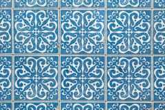 Traditional Portuguese azulejo tiles on the building in Porto, P Stock Photo