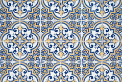 Traditional Portuguese azulejos Royalty Free Stock Image