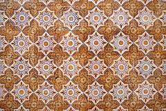 Traditional Portuguese azulejos Stock Image