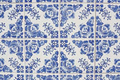 Traditional portuguese azulejos Stock Images