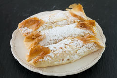 Traditional portuguese cake Royalty Free Stock Image