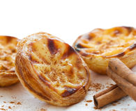 Traditional portuguese cakes Stock Photography