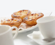 Traditional portuguese cakes Royalty Free Stock Photo