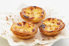 Traditional portuguese cakes Royalty Free Stock Photography