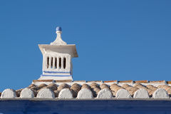 Traditional Portuguese chimney. Stock Photo