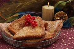 Traditional portuguese christmas dish Royalty Free Stock Photo