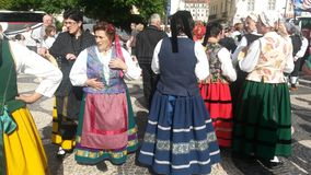 Traditional Portuguese costume Stock Photos