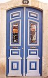 Traditional portuguese door Royalty Free Stock Photos