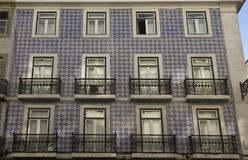 Traditional Portuguese facade Stock Photos