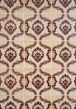Traditional Portuguese glazed tiles Royalty Free Stock Photography