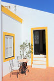 Traditional Portuguese house in Algarve region Royalty Free Stock Image