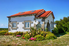 Traditional portuguese house stock photography