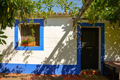 Traditional portuguese house in a village, Alentejo Portugal Europe Royalty Free Stock Photo