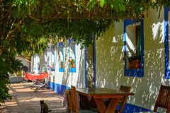 Traditional portuguese house in a village, Alentejo Portugal Europe Stock Photography