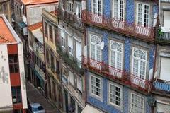 Traditional Portuguese Houses in Porto Stock Photo