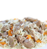 Traditional portuguese lamb stew isolated Stock Photography