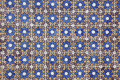 Traditional Portuguese mosaic Royalty Free Stock Photography