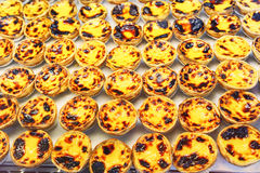 Traditional portuguese pastry - pastel de nata Royalty Free Stock Photo