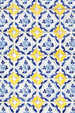 Traditional Portuguese tiles azulejos Royalty Free Stock Images
