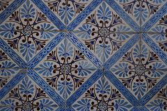 Traditional Portuguese tiles Royalty Free Stock Photo