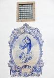 Traditional portuguese tilework Stock Photos