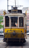 Traditional portuguese tram(Portugal) Stock Photos