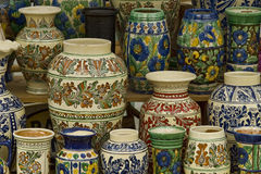 Traditional pots Stock Photo