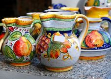 Traditional pots Stock Photography