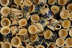 Traditional Pottery Royalty Free Stock Images