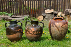Traditional pottery Royalty Free Stock Photography