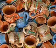 Traditional Pottery In Romania Stock Images