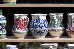 Traditional pottery - RAW format Royalty Free Stock Photography