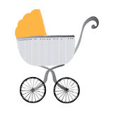 Traditional Pram Stock Photos