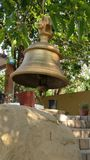 Traditional prayer Bell on Indian home and temple Royalty Free Stock Image