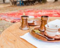 Traditional prepare coffee Stock Images