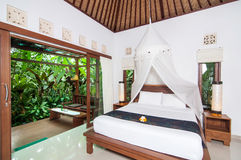 Traditional Private Villa Stock Images